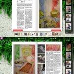 Magazine coverage.